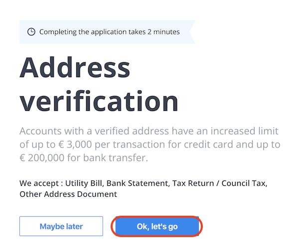 CEX.io-登録-住所確認2
