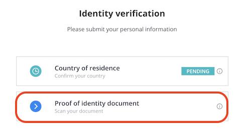 CEX.io-登録-本人確認4