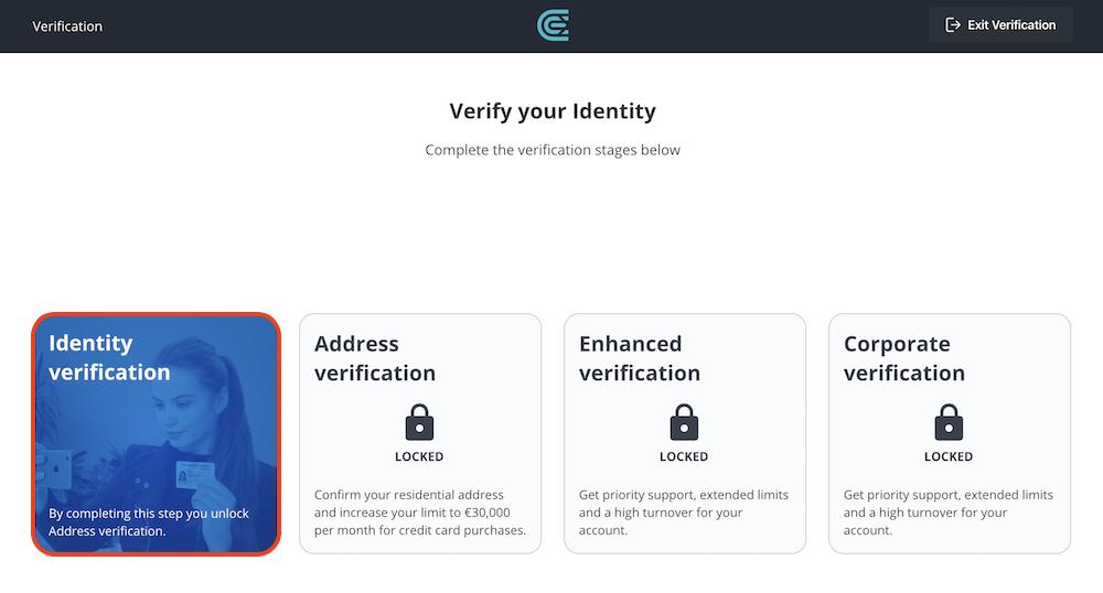 CEX.io-登録-本人確認1