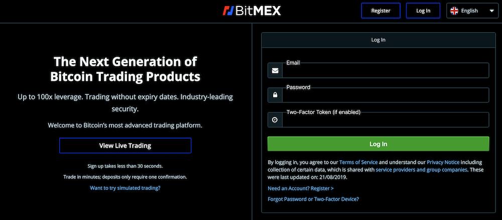 BitMEX-登録方法-登録方法