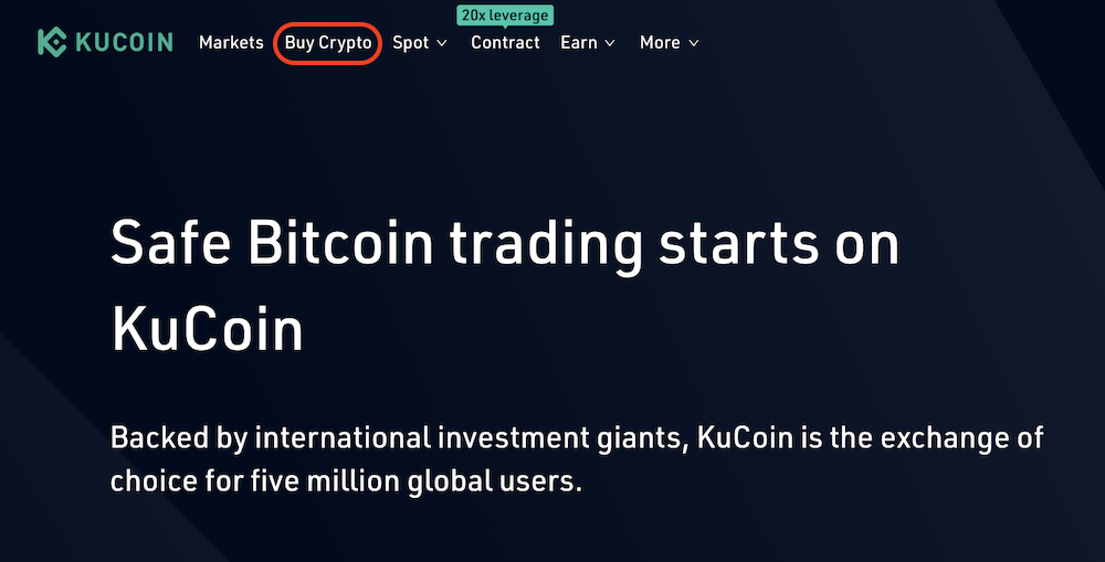KuCoin-登録-入金1