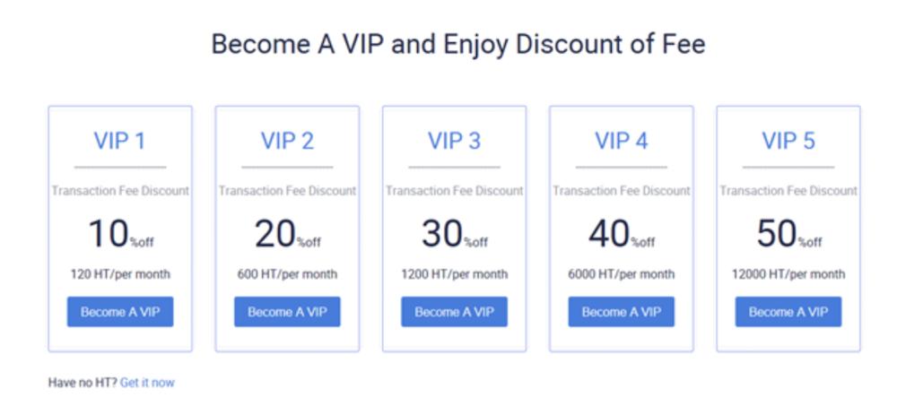Huobi-今後-VIP登録による割引1