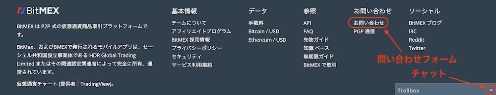 BitMEX-ログイン-問い合わせ1