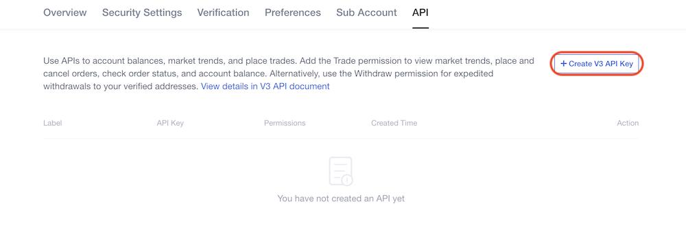 OKEx API2
