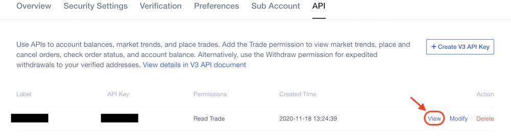 OKEx API4