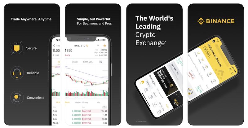 BINANCE -アプリ-特徴1
