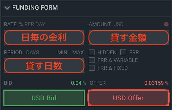 bitfinex-登録-レンディング2