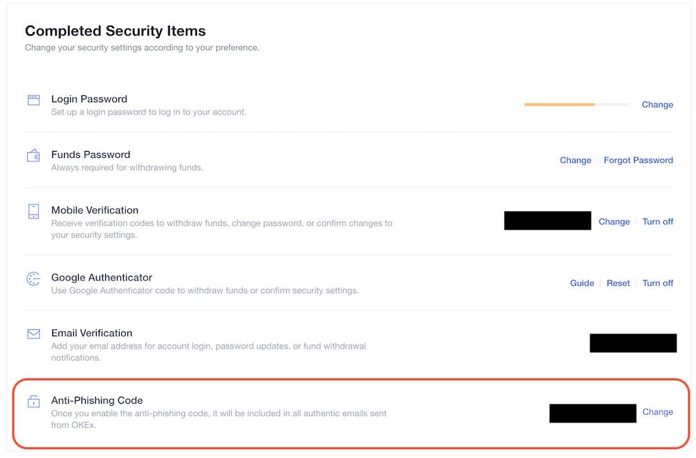 Anti-phishing Code