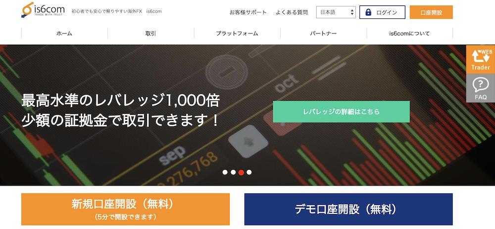 FXランキング-is6com