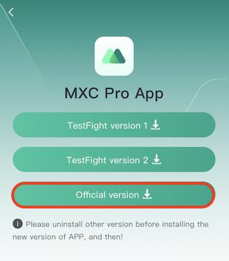MXCアプリインストール7